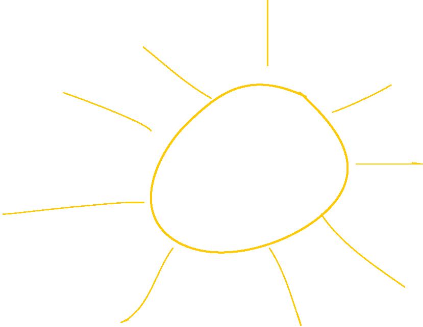 Hintergrund-Sonne